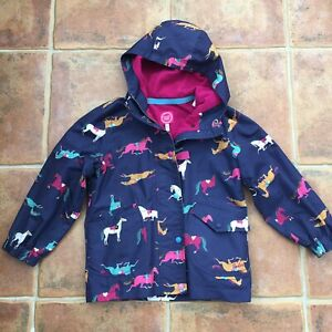 GIRLS JOULES HOODED COAT JACKET SIZE AGE 7 YEARS GORGEOUS
