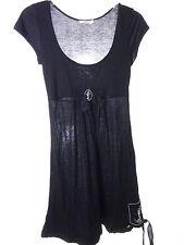 Age of Love by Nataya Casual Black Dress XS Small Lounge Dress