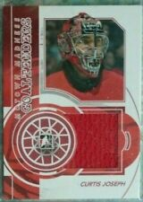 Curtis Joseph 2012-13 ITG Motown Madness Goaltenders Game-Used Jersey Red Wings
