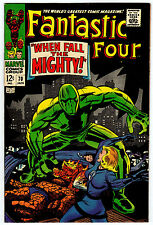 FANTASTIC FOUR #70 8.0 OFF-WHITE TO WHITE PAGES SILVER AGE