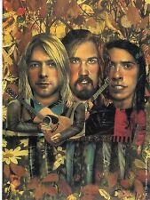 Original Vintage -Kurt Cobain & Nirvana- Book Plate 9x12 by James Woolley