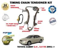 FOR TOYOTA CAMRY 2.4 3.0 V6 2AZ-FE 1MZ-FE 2001 > TIMING CHAIN TENSIONER KIT