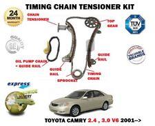 für Toyota Camry 2.4 3.0 V6 2AZ-FE 1MZ-FE 2001> Steuerkettenspanner Satz