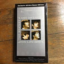 The Beatles A Hard Days Night VHS Sealed New Bonus Edition