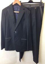 Vivienne westwood homme london costume noir veste et pantalon. taille 48.