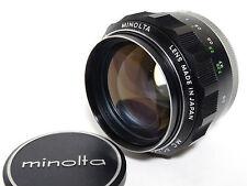 Minolta MC Rokkor-PG 58mm F1.2 camera lens