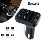Wireless Bluetooth Car FM Transmitter MP3 Player USB*2 Car Fast Charger Adapter