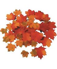 Artificial Autumn Maple Leaves (x48)