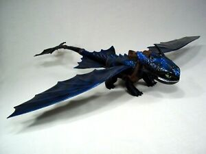 """Dreamworks Giant Fire Breathing 20"""" Toothless Dragon How to Train Your Dragon"""