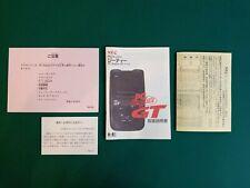 Nec PC Engine GT manual notice manuel noticia instructions repro
