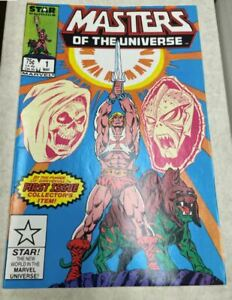 Masters of the Universe lot of comics #1 to #11