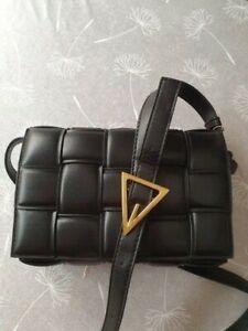 Square Crossbody bag High quality PU Leather Women's Designer Messenger Handbag