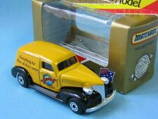 Matchbox 1939 Chevy Sedan Gowings Brothers Yellow Australian