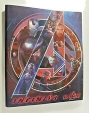 Marvel Avengers Infinity War Poster Graphic Collectible 2 Pocket Poly Bi-Folder
