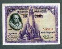 BILLETE100  pesetas 1928 SIN SERIE   EBC