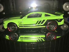 Hot Wheels Muscle Mania '12 FORD MUSTANG BOSS 302 LAGUNA SECA (Green) Mint/Loose