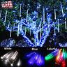 144 LED Lights Meteor Shower Rain Snowfall Xmas Tree Garden Outdoor Party