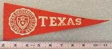 """VINTAGE SEAL OF THE UNIVERSITY OF TEXAS  - 9"""" LONG {CS3}"""