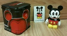 "Vinylmation Cast Exclusive Pie Eyed Mickey Mouse 3"" w/ Tin & Randy Noble Card"