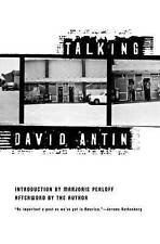NEW Talking (American Literature (Dalkey Archive)) by David Antin
