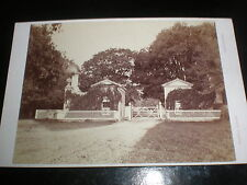Cdv cabinet photograph chain Gate at Goodwood by Russell at Chichester c1880s