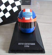 F1 CASQUE HELMET KATAYAMA TYRRELL ARAI 1996 1/8 MINICHAMPS