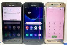 Samsung Galaxy S7 active Atnt Gsm Unlocked Screen Burn/Pink Lines 4G Smartphone