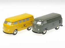 """Schuco Set """"Postmuseums-Shop 1998"""" 2x VW T1# 50131005"""