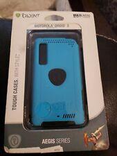 Trident Aegis Case for Motorola DROID 3, Milestone 3 XT861 - Blue