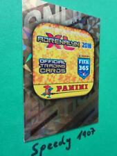 Panini Adrenalyn 2018 FIFA 365 Limited Edition Online Card 20 Coins