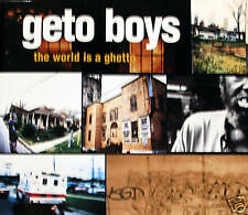 GETO BOYS - the world is a getto CD