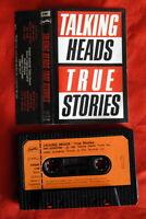 TALKING HEADS TRUE STORIES 1986 RARE EXYU CASSETTE TAPE