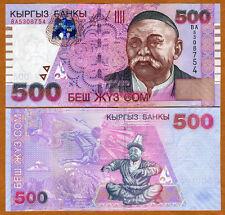 Kyrgyzstan, 500 Som, 2005, P-23, UNC