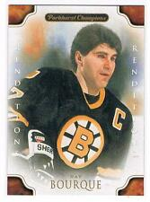 11-12 RAY BOURQUE PARKHURST CHAMPIONS RENDITIONS SP #143 BOSTON BRUINS