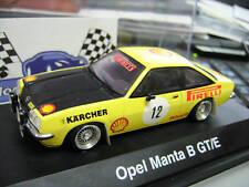 OPEL Manta GT/E B Rallye Pireli #12 Einzstück UMBAU based Schuco 1:43