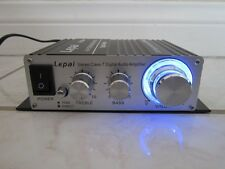 NEW Compact Stereo Amplifier w/ iPod.iPhone Cable.20x2 Test Power Amp.Digital.
