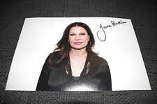 Jane Badler SIGNED AUTOGRAFO SU 20x30 cm immagine inperson look