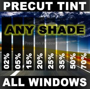 PRECUT WINDOW TINT W// 3M COLOR STABLE FOR DODGE RAM 2500 CREW 10-18