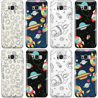 SPACE COSMIC SOLAR PATTERN PRINT PHONE CASE COVER FOR SAMSUNG GALAXY PHONES 2