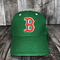 BOSTON RED SOX MLB BASEBALL HAT CAP ONE SIZE FITS MOST ADJUSTABLE GREEN OSFM