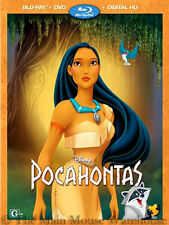 Disney Renaissance Animated Musical Pocahontas on Blu-ray DVD & Digital Copy