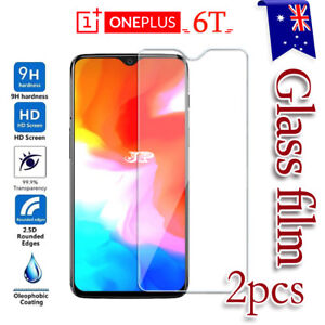 2x OnePlus 6T Tempered Glass /Hydrogel LCD Screen Protector Film Guard