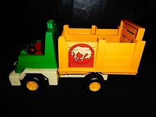 Fisher Price Husky Helper Rodeo Rig truck 1979 issued nice shape #330 S1/4