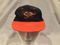 Kid's Size Baltimore Orioles Hat Baseball Cap Snapback Adjustable Orange Black