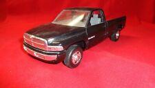 "Ertl 1 25 Scale 1994 Dodge Pick Up """" As Is """" Junkyard Sale Black On Black"
