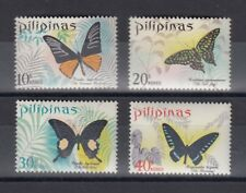 TIMBRE STAMP  4 PHILIPPINES Y&T#743-46 PAPILLON BUTTERFLY NEUF**/MNH-MINT ~B26