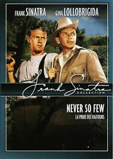 """NEW DVD """"Never So Few""""  Frank Sinatra, Gina Lollobrigida"""