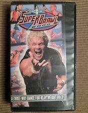 VHS WCW SuperBrawl 2000, Sid Vicious, Scott Hall, Jeff Jarrett, Hulk Hogan