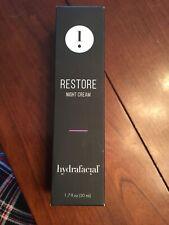 Restore Night Cream Hydrafacial- New