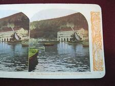 Stereoview World Series Kawin And Co Barracks And Inner Harbor Villefranche (O)